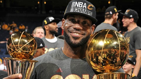LeBron James, SF, Cleveland Cavaliers