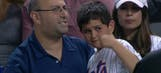 New York Mets players deliver autographed present to young fan hit by foul ball