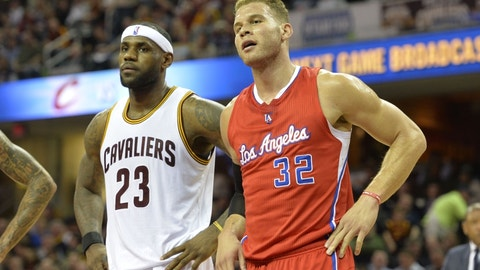 Cleveland Cavaliers vs. Los Angeles Clippers: +2950 (59/2)
