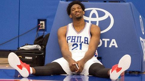 Philadelphia 76ers (previous ranking: 30): 2-10