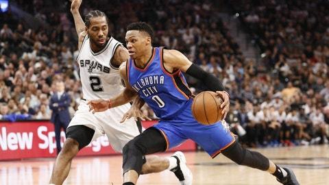 San Antonio Spurs: 1/31