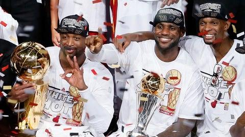 Year 10 (LeBron James: 2012-13; Michael Jordan: 1994-95)