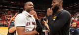LeBron James: Cavaliers wanted to sign Dwyane Wade but couldn't afford him