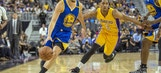 Warriors' Big Three's scoring barrage too much for Lakers