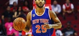The Latest: Jury weighing rape claims against Derrick Rose