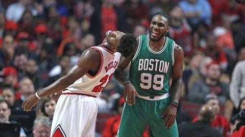 Celtics over Bulls in seven games