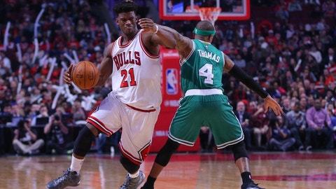 Boston Celtics (1) vs. Chicago Bulls (8)