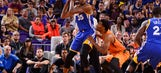 Durant's 37 leads Warriors past pesky Suns 106-100