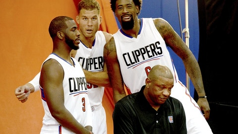 Los Angeles Clippers: Chris Paul, Blake Griffin, DeAndre Jordan