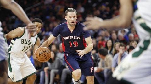 Detroit Pistons: Beno Udrih, 34