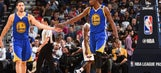 Klay Thompson says Kevin Durant is not to blame for his current slump