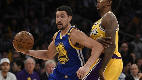 Start laying the groundwork to steal Klay Thompson from the Warriors