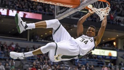 Milwaukee Bucks: Giannis Antetokounmpo
