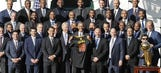 Obama honors NBA champs at White House
