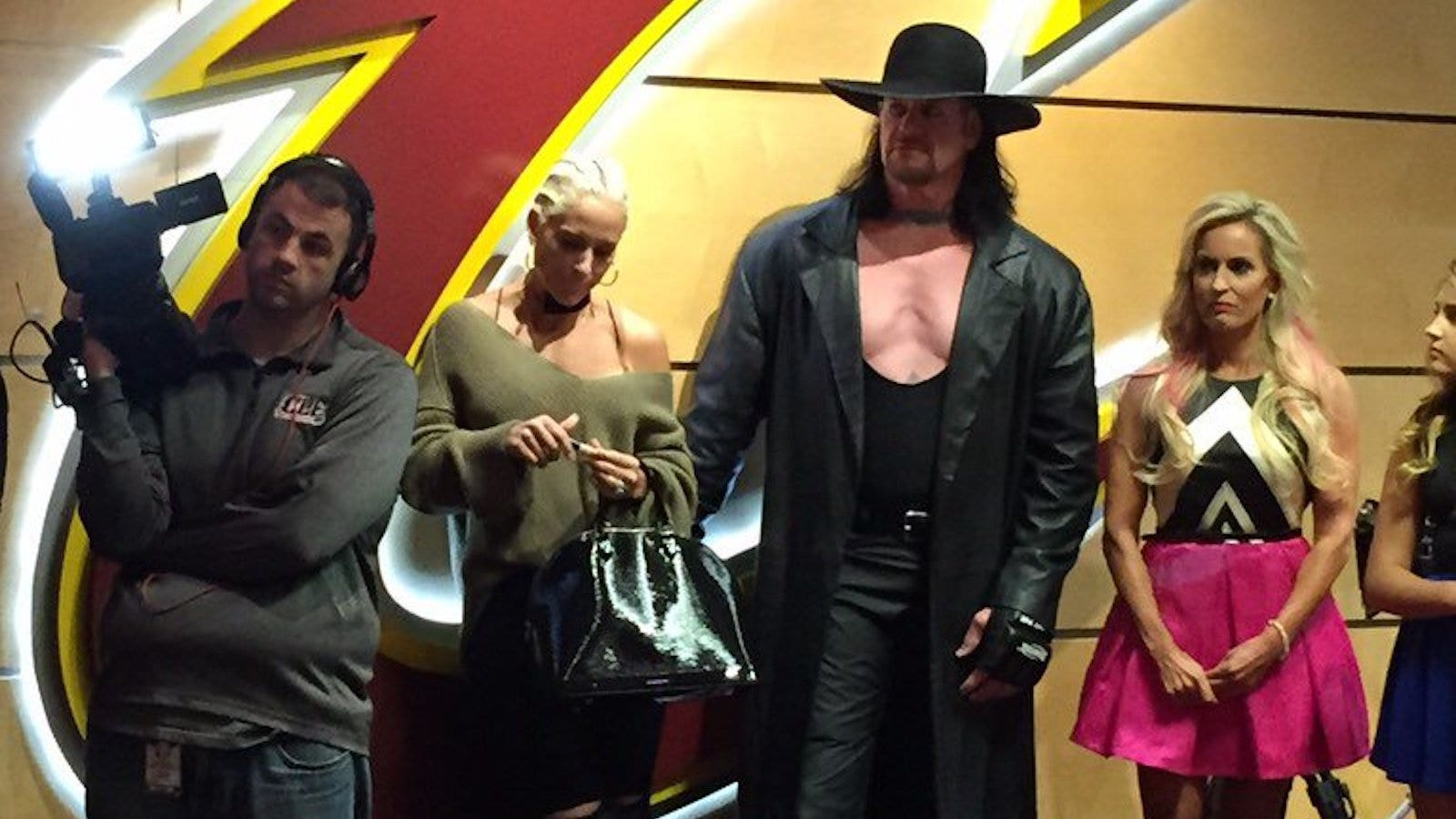 712a3c33813a Update: Behind the Undertaker's surprise appearance at the Cavaliers' home  opener   FOX Sports