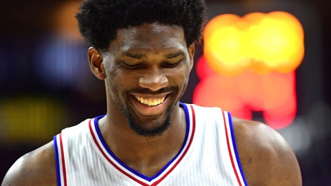 There's Joel Embiid, then there's everyone else