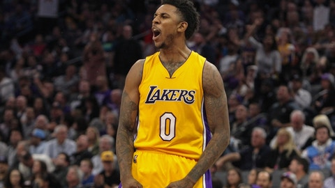 Los Angeles Lakers: Nick Young, actual NBA player