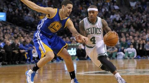 Boston Celtics vs. Golden State Warriors: +1365 (273/20)