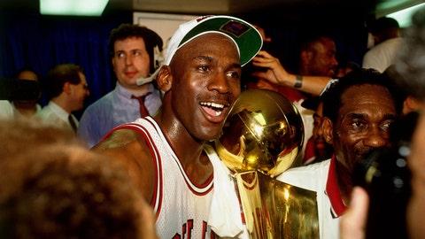 Career accomplishments: Michael Jordan