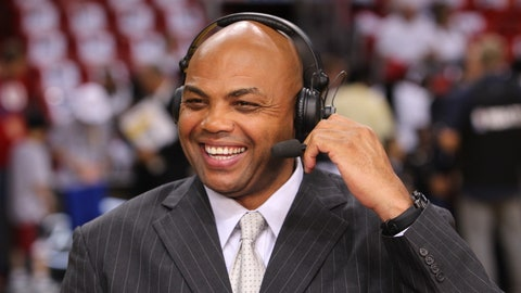Charles Barkley, TNT broadcaster