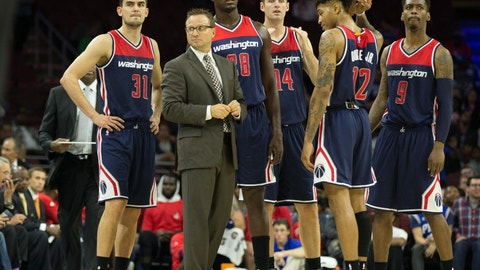 Scott Brooks, Washington Wizards: B+