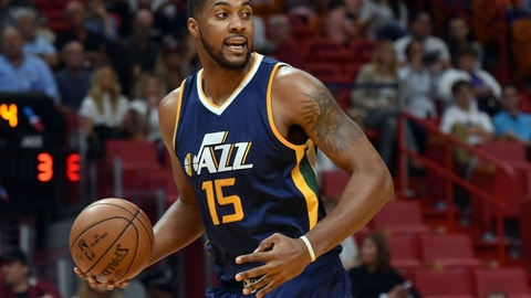Utah Jazz: Derrick Favors