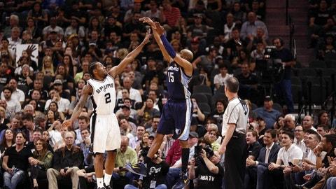 San Antonio Spurs (2) vs. Memphis Grizzlies (7)