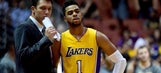 Lakers losing D'Angelo Russell for at least two more weeks