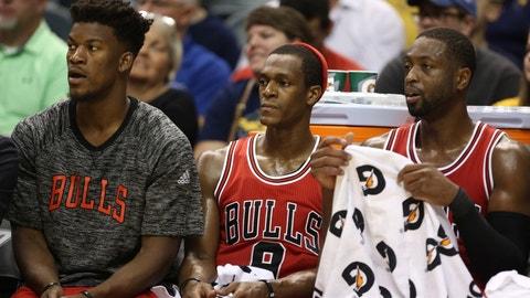 Chicago Bulls (25-25)