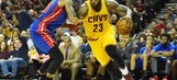Detroit Pistons blown out by the Cleveland Cavaliers