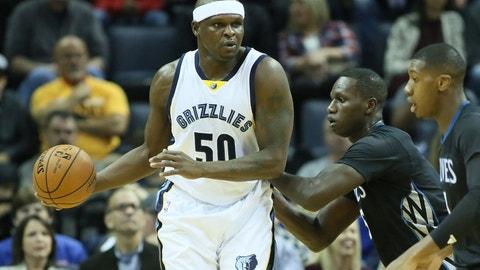 Zach Randolph, PF, Memphis Grizzlies: Unrestricted
