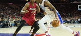 Embiid, Whiteside Had Conversation About NBA Centers During Game