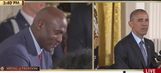 President Obama says Michael Jordan is 'more than just a meme'