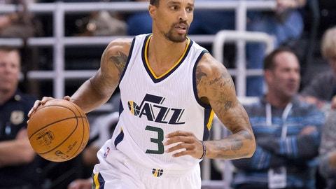 George Hill, PG, Utah Jazz: Unrestricted