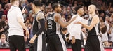 Spurs remain perfect on the road behind solid bench play