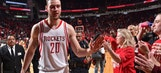 Reports: Donatas Montiejunas skips physical, 'fighting for his rights' after Rockets match RFA offer sheet