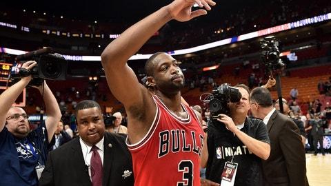 Dwyane Wade, SG, Chicago Bulls: Player Option