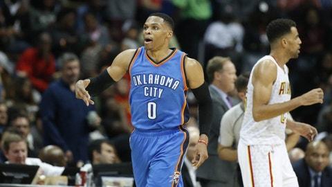 Russell Westbrook, Oklahoma City Thunder
