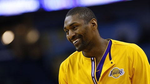 Los Angeles Lakers: Metta World Peace, 37