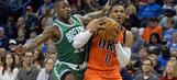 Russell Westbrook's triple-double streak snapped in win over Celtics