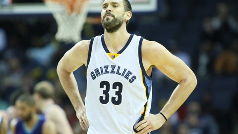Marc Gasol was largely ignored by voters during a career-best season