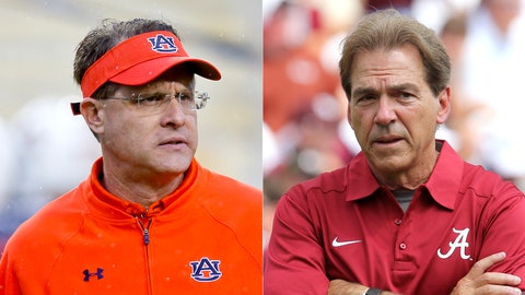 Auburn at Alabama: Saturday, November 26th