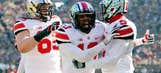 Caught on tape: Ohio State players go crazy watching Iron Bowl end