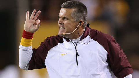 Arizona State: Convince Todd Graham to stop wearing that silly headset