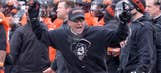 He's a man! Meet Oklahoma State coach Mike Gundy's biggest fan