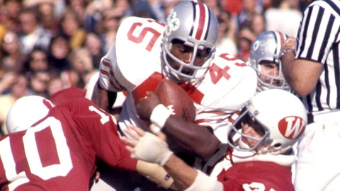 Ohio State RB Archie Griffin, 1974-75 winner