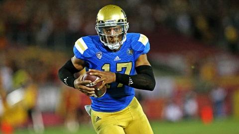 T-8. Brett Hundley, QB, UCLA (18-to-1)