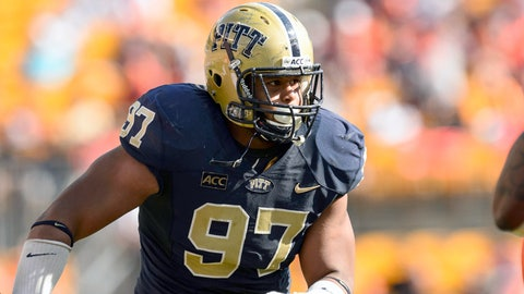 Defensive line: Aaron Donald, Sr., Pittsburgh