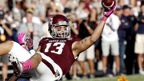 Wide receiver: Mike Evans, So., Texas A&M