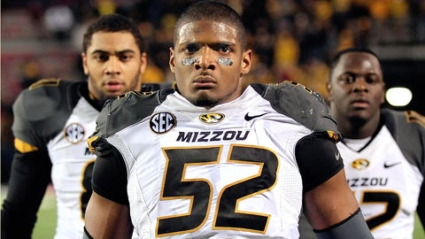 Defensive end: Michael Sam, Sr., Missouri